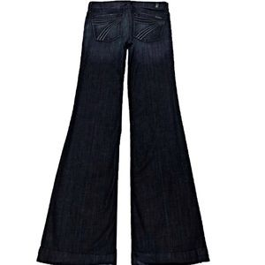 NWT 7 For All Mankind Dojo 30 x 35 Long Flare